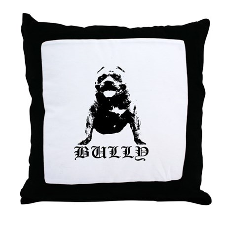 Bully Throw Pillow