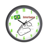 Interlagos Wall Clock