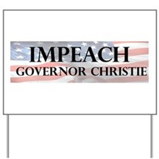Impeach Christie Yard Sign