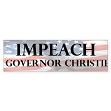 Impeach Christie Bumper Bumper Sticker
