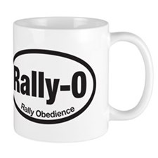 Funny Rally obedience Mug