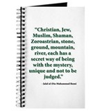 Rumi Religion Quote Journal