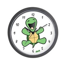 Happy Turtle Wall Clock