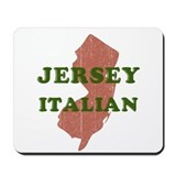 New Jersey Italian Mousepad