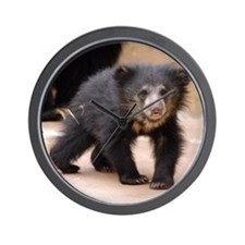 Sloth Bear Cub Wall Clock