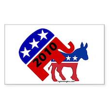 GOP 2010 Rectangle Decal