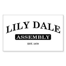 Lily Dale Assembly Rectangle Decal