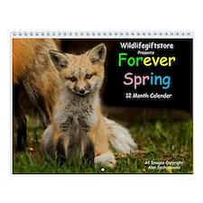 ''Forever Spring'' Wall Calendar