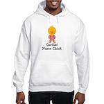 Cardiac Nurse Chick Hooded Sweatshirt