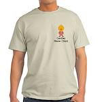 Cardiac Nurse Chick Light T-Shirt