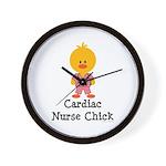 Cardiac Nurse Chick Wall Clock