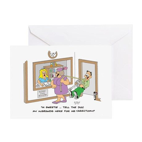 VASECTOMY Greeting Card