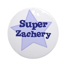 Super Zachery Ornament (Round)