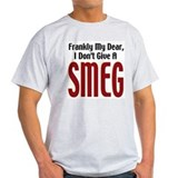 Don't Give A Smeg Ash Grey T-Shirt