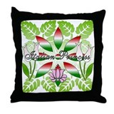 Italian Princess Floral Throw Pillow