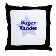 Super Xander Throw Pillow