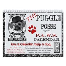Puggle Posse for PAWS Calendar