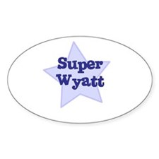 Super Wyatt Oval Decal
