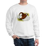 Bokhara Trumpeter Pigeon Sweatshirt