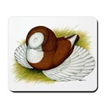 Bokhara Trumpeter Pigeon Mousepad