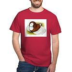 Bokhara Trumpeter Pigeon Dark T-Shirt