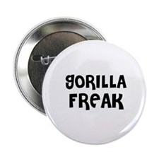 "GORILLA FREAK 2.25"" Button (10 pack)"