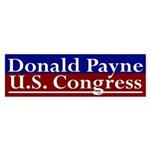 Re-Elect Donald Payne Bumper Sticker
