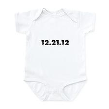 12.21.12 2012 Disaster Infant Bodysuit