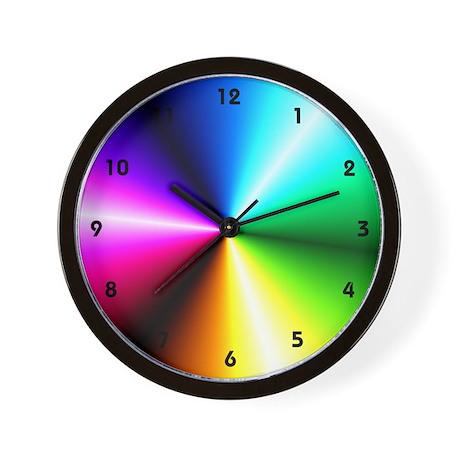 Rainbow dreams Wall Clock by clocksgalore