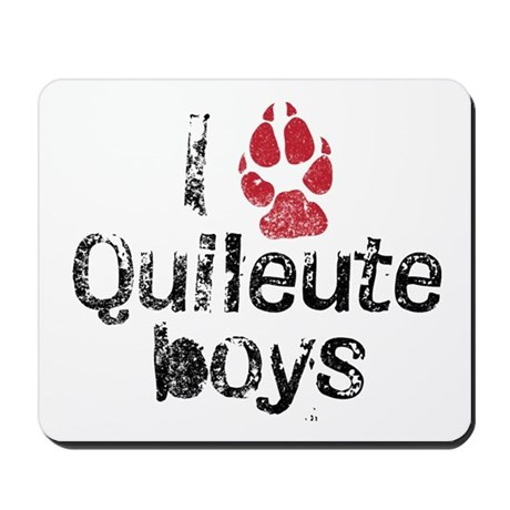 I Paw Quileute Boys Mousepad