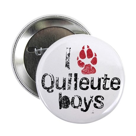 I Paw Quileute Boys 2.25&quot; Button (100 pack)