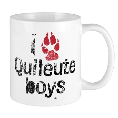 I Paw Quileute Boys Mug