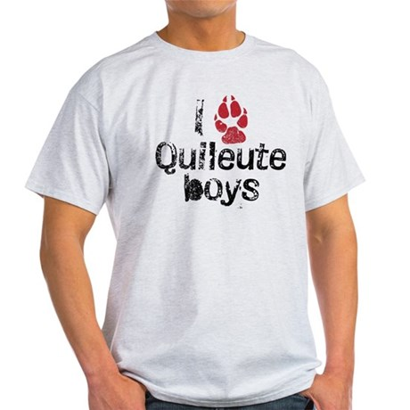 I Paw Quileute Boys Light T-Shirt