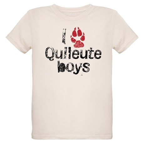 I Paw Quileute Boys Organic Kids T-Shirt