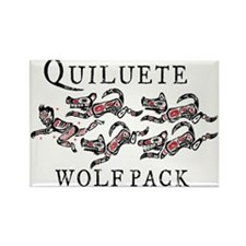 Quileute Sparkler Chaser Rectangle Magnet (10 pack
