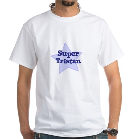 Super Tristan White T-Shirt