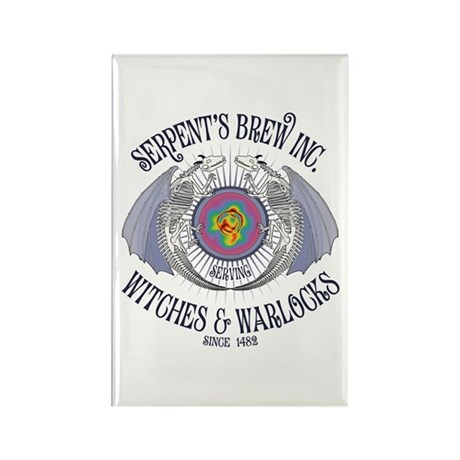 Serpent's Brew Rectangle Magnet