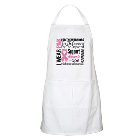 Pink Ribbon Tribute BBQ Apron
