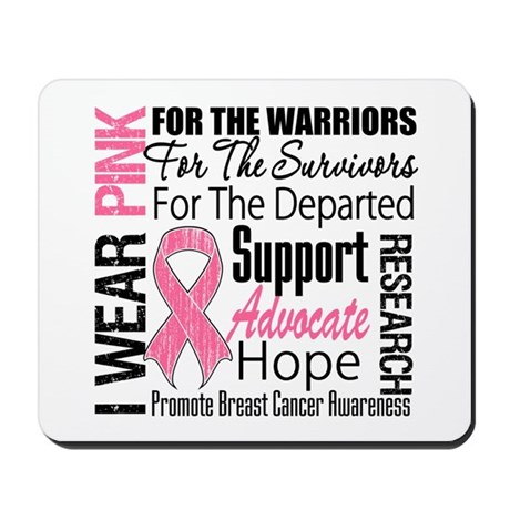 Pink Ribbon Tribute Mousepad