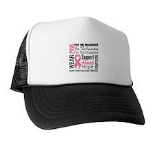 Pink Ribbon Tribute Trucker Hat