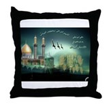 Cute Egyptian art Throw Pillow