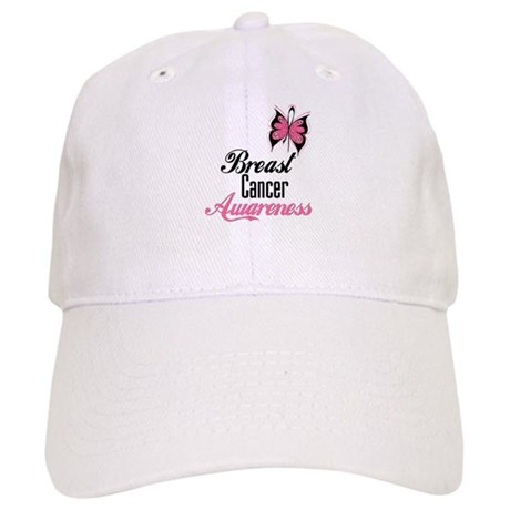 Butterfly Breast Cancer Cap