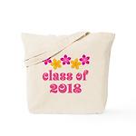 Floral School Class 2018 Tote Bag