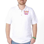 Floral School Class 2018 Golf Shirt