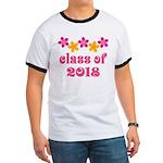 Floral School Class 2018 Ringer T