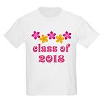 Floral School Class 2018 Kids Light T-Shirt