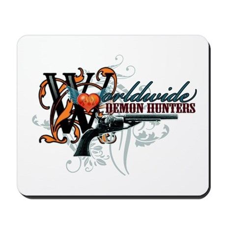 Wolrdwide Demon Hunters Mousepad