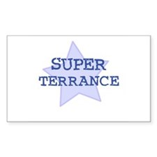 Super Terrance Rectangle Decal