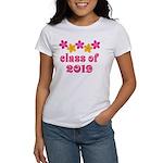 Floral Class Of 2019 Women's T-Shirt