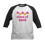 Floral Class Of 2019 Kids Baseball Jersey